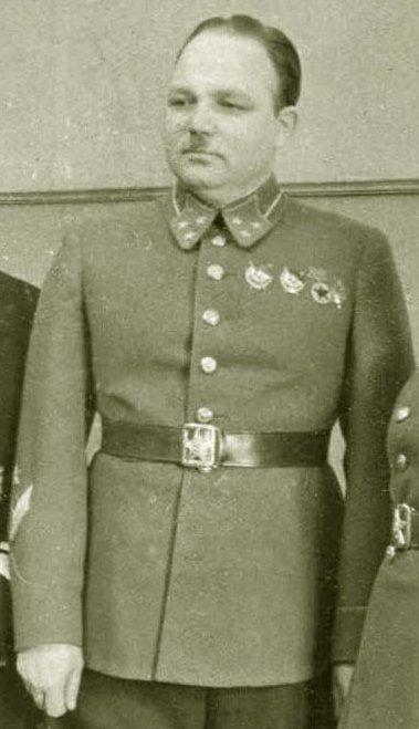 Генерал-лейтенант Соколов. 1940 г.