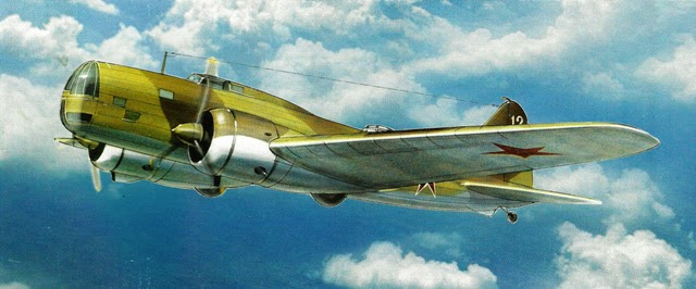Дальний бомбардировщик «ДБ-3».