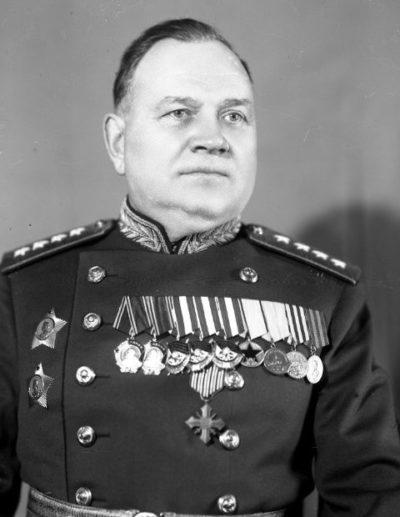 Генерал армии Хрулев. 1948 г.