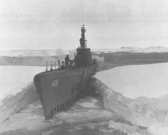 Подводная лодка SS-408 «Сеннет» во время операции «Highjump».