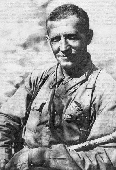 Кавалерист Петров во время службы в ТуркВО. 1931 г.