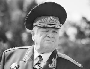 Генерал армии Хрулев. 1960 г.