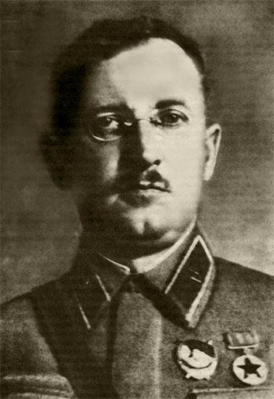 И.Е. Петров – начальник Ташкентского военного училища им. В.И. Ленина. 1939 г.