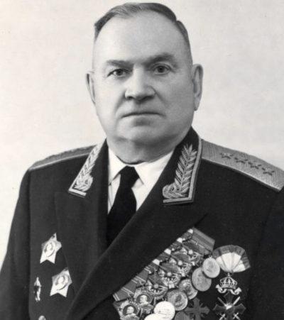 Генерал армии Хрулев. 1961 г.