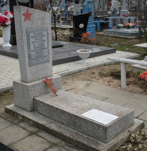 ст-ца. Курчанская Темрюкского р-на. Братская могила, в которой похоронено 5 советских воинов.