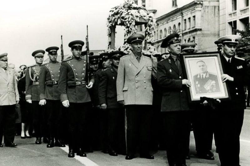 Похороны Хрулева. 1962 г.
