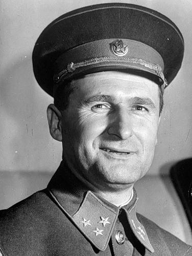 Генерал-лейтенант Соколовский. 1941 г.