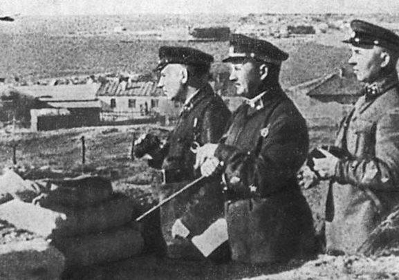 Петров И.Е. Одесса, лето 1941 г.