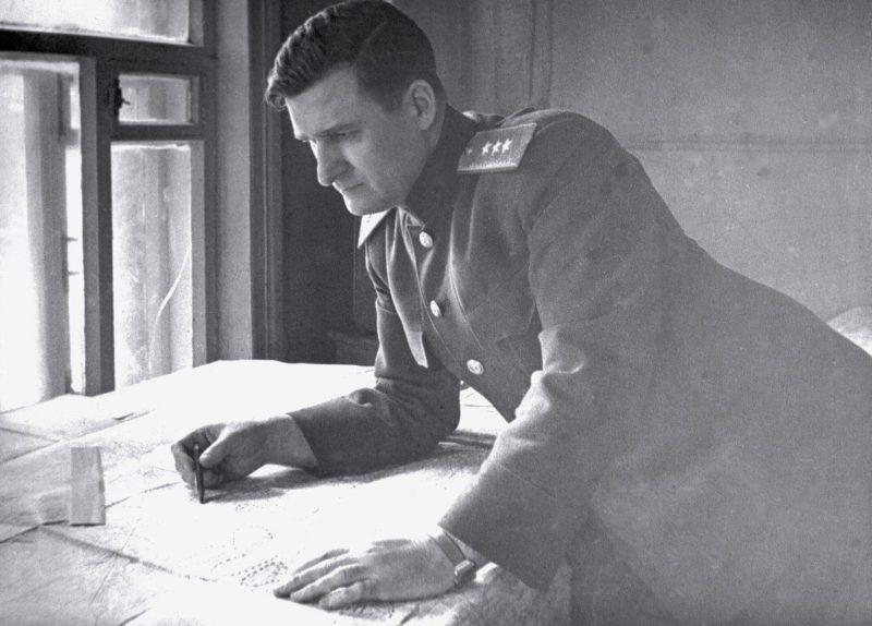 Командующий Западным фронтом генерал-полковник В.Д. Соколовский. 1943 г.
