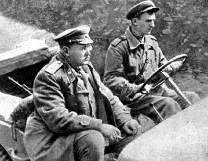 Генерал-полковник Петров. 1943 г.