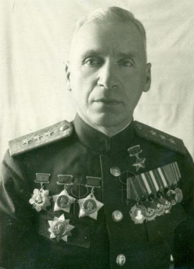 Цветаев В.Д. 1945 г.