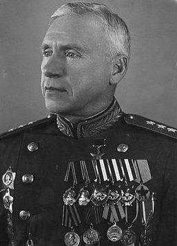 Генерал-полковник Цветаев. 1946 г.