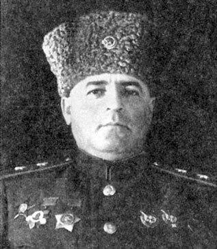 Генерал-лейтенант П. Г. Чанчибадзе. 1943 г.