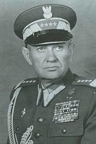 Заместитель министра обороны ПНР. 1950 г.