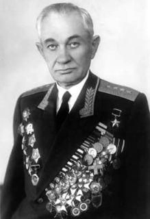 Генерал армии Поплавский. 1965 г.