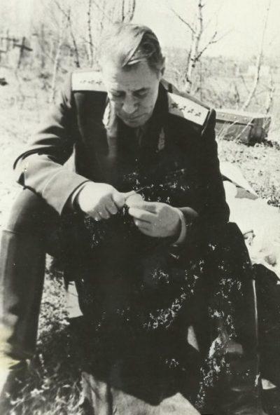 Генерал-полковник Попов. 1952 г.