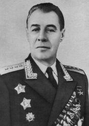 Генерал армии Попов. 1953 г.