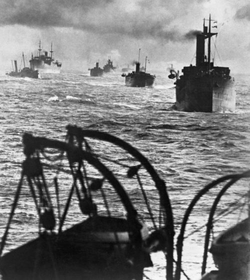 Конвой PQ-17. Июнь. 1942 г.