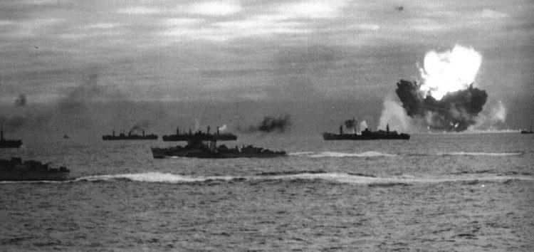 Гибель кораблей конвоя PQ-17. Июнь. 1942 г.