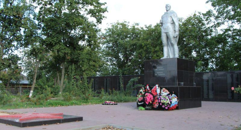 ст-ца. Ладожская Усть-Лабинского р-на. Памятник, погибшим воинам в годы войны.