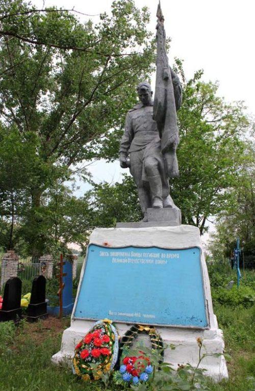 п. Первомайский Багаевского р-на. Памятник, установленный на братской могиле, в которой похоронено 1 010 моряков-пехотинцев, погибших в годы войны.