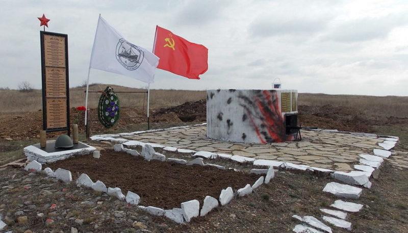 х. Хоботок Каменского р-на. Братская могила советских воинов.