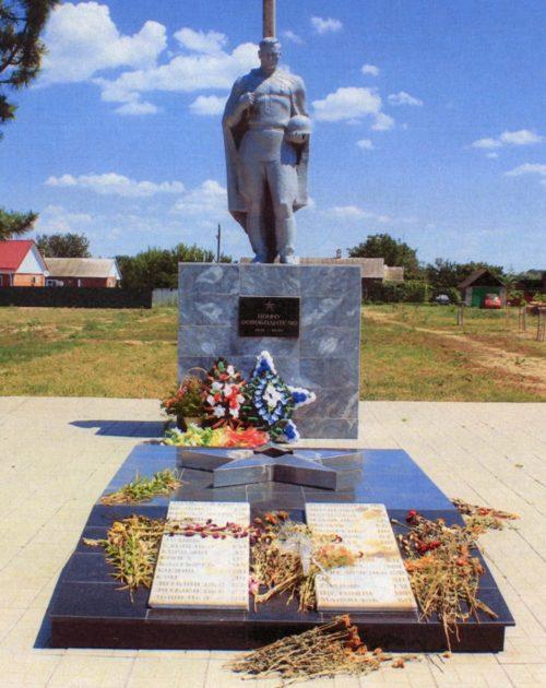 г. Тимашевск. Памятник-символ землякам, погибшим в годы войны.
