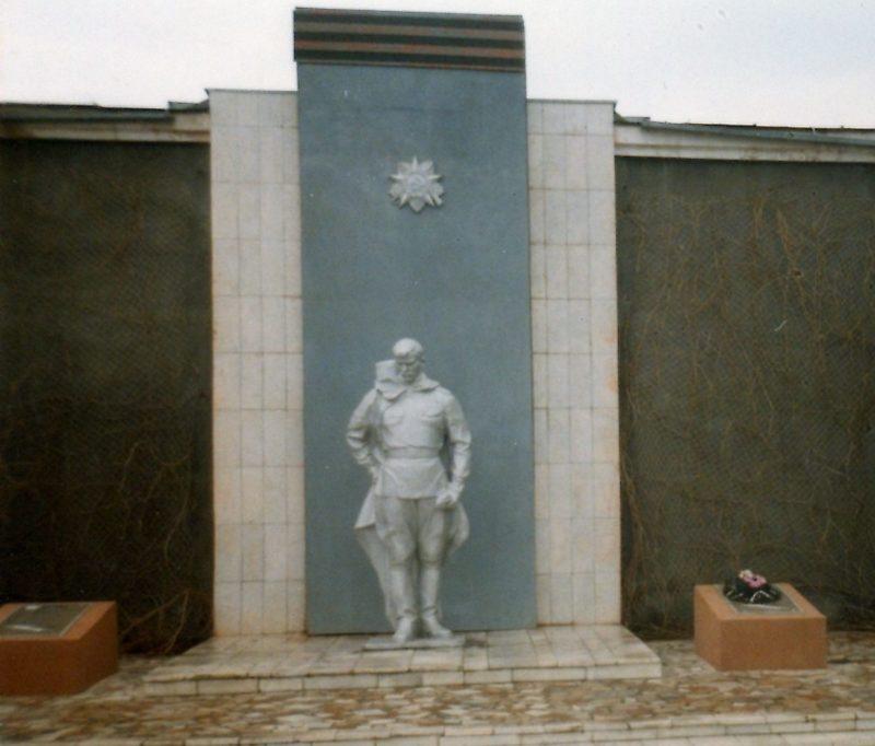 г. Тихорецк. Памятник рабочим, погибшим в годы войны.