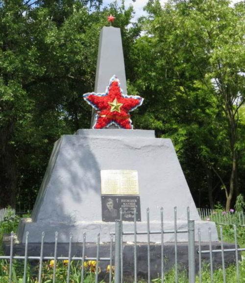х. Терновский Егорлыкского р-на. Братская могила советских воинов.
