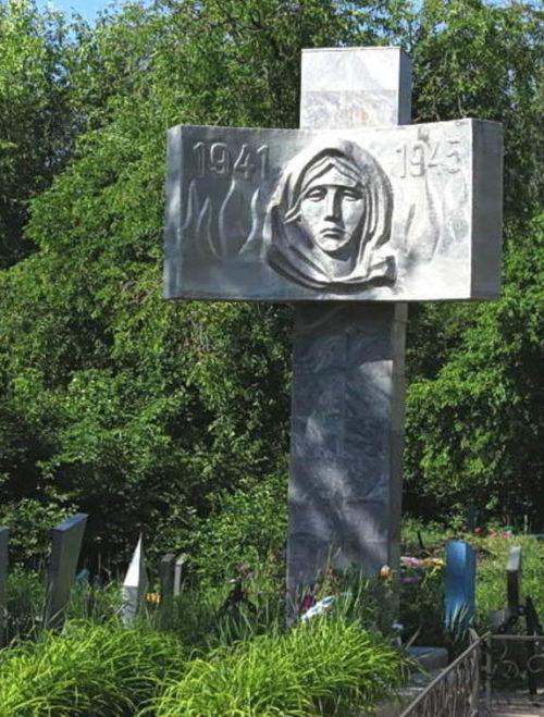ст-ца Мечётинская Зерноградского р-на. Братская могила, в которой захоронено 195 советских воинов, в т.ч. 55 неизвестных.
