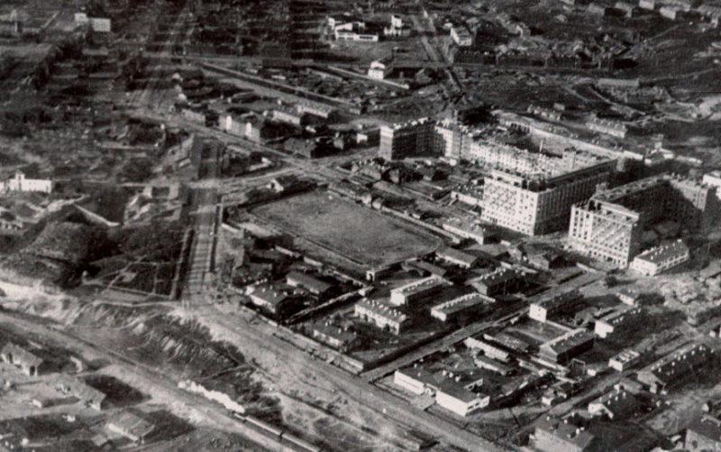 Панорама центральной части Мурманска. 1940 г.