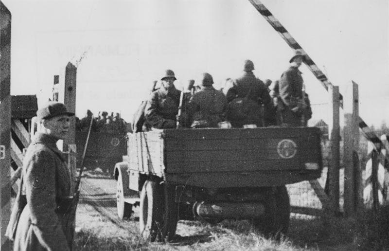 Пересечение Красной Армией границы.
