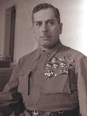 Командующий Белорусским фронтом Ковалев М.П.