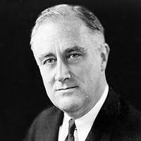Президент Франклин Д. Рузвельт.