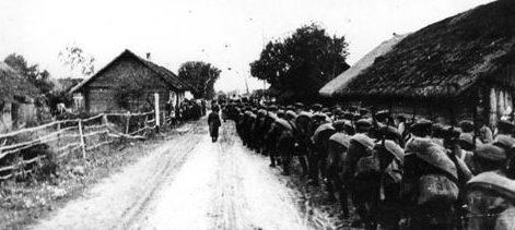 Красная Армия входит в Западную Белоруссию. Сентябрь 1939 г.