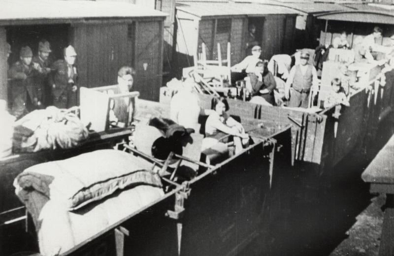 Эвакуация румынского населения. Июнь 1940 г.