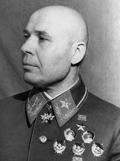 Командующий Украинским фронтом Тимошенко С.К.