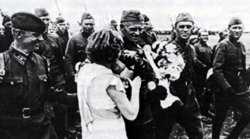 Советские войска входят в Литву. Июнь 1940 г.