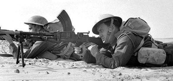 Южноафриканские войска в Мояле (Эфиопия). 1941 г.