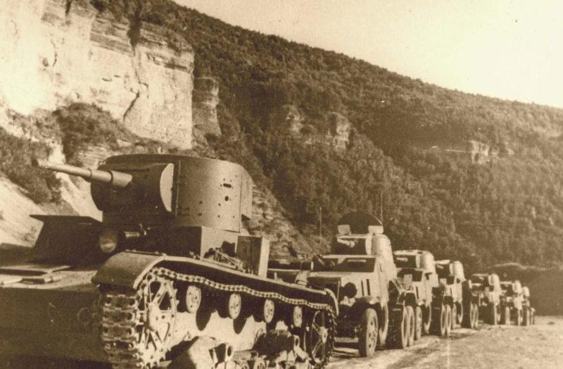 Красная Армия входит на территорию Буковины.
