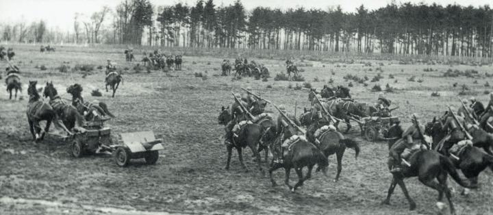 Польская кавалерия.