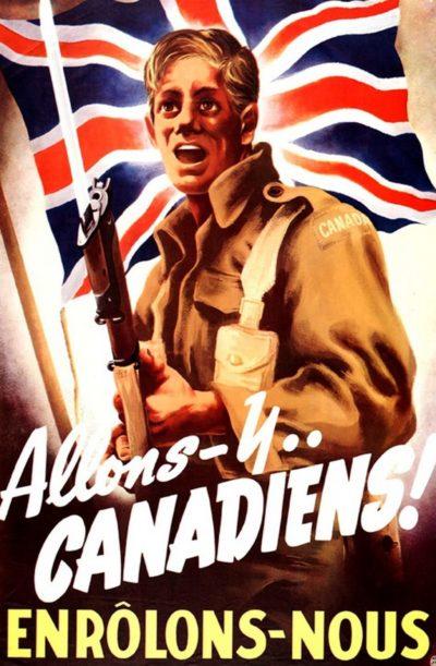 Канадские агитационные плакаты.