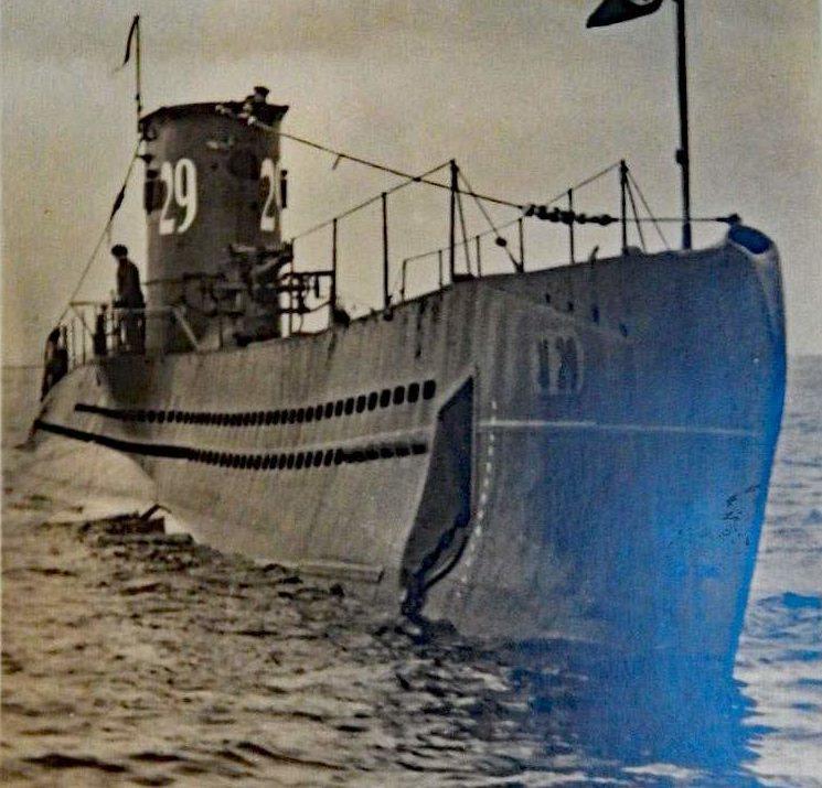 Немецкая подлодка «U-29».