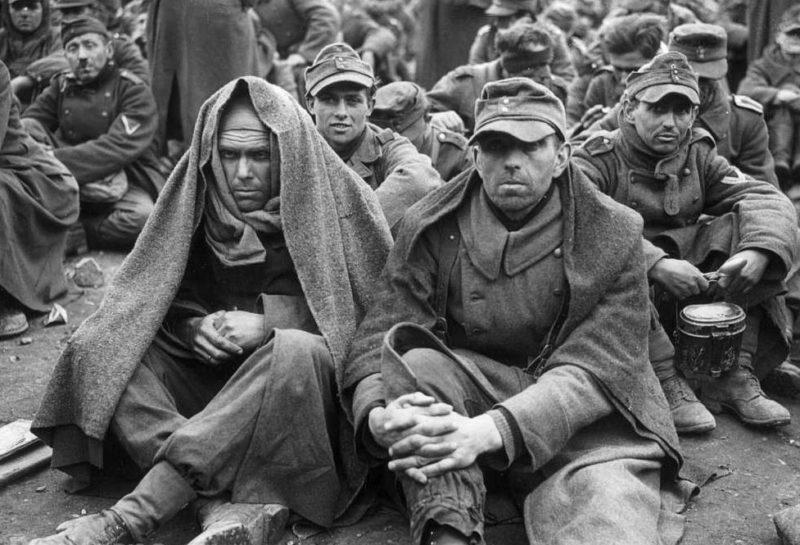 Бельгийские военнопленные.