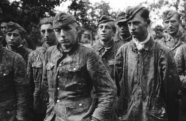 Военнопленные немцы из «Курляндского котла».