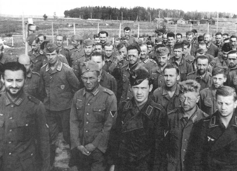 Немецкие военнопленные. Июль 1941 г.