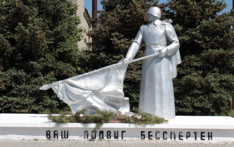 х. Верхнекольцов Тацинского р-на. Мемориал погибшим воинам в Великой Отечественной войне.