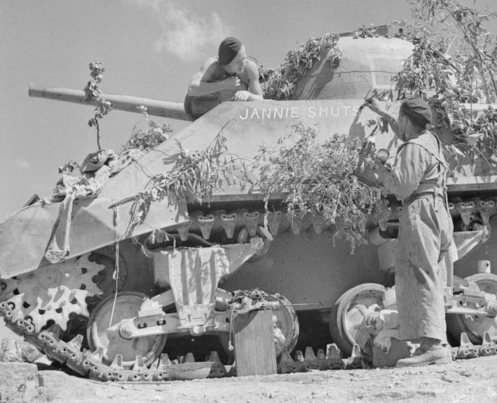 Южноафриканская 6-й бронетанковая дивизия в Северной Африке. 1944 г.