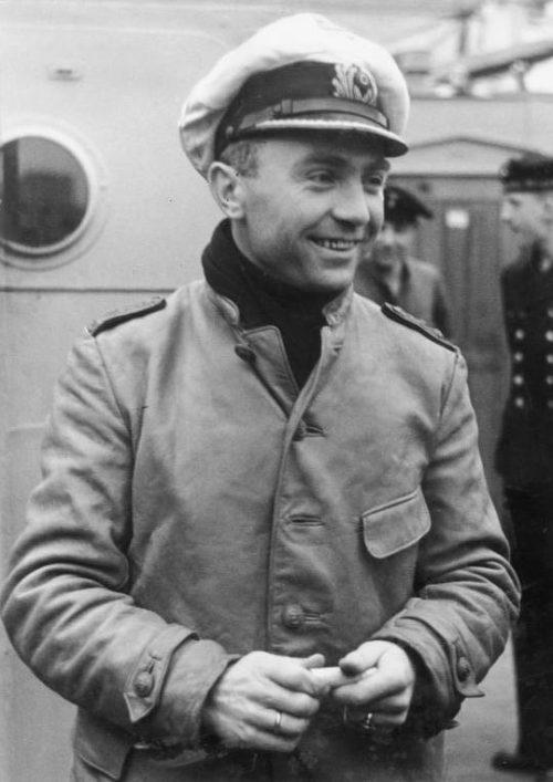 Капитан подлодки «U-47» Гюнтер Прин.