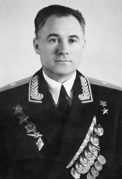 Генерал-майор авиации Авдеев. 1957 г.